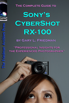 sony cyber shot rx 100 book by gary l friedman rh friedmanarchives com sony cyber shot rx100 iii manual sony cyber shot rx100 manuel