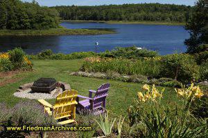 A Nova Scotia Backyard