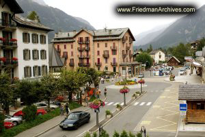A Street in Chamonix
