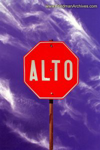 ALTO (Stop sign)