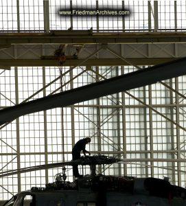 Hangar Silhouette