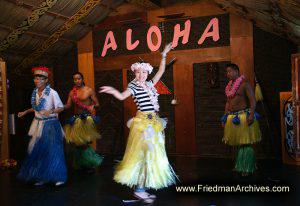 Aloha Chinese Hula Dancer