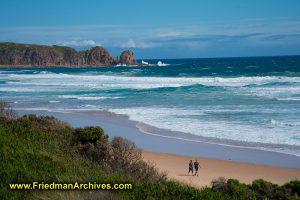 Australian Beach Postcard Shot