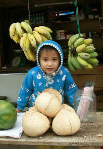 Baby in Hainan.