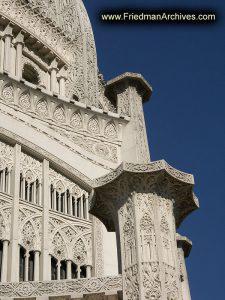 B'hai Temple Close-up