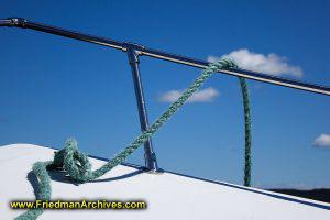 Boat Rope Railing