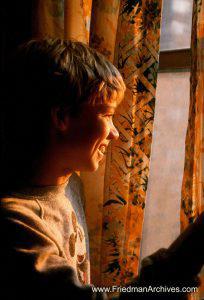 Boy at Sunrise