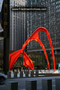 Calder Flamingo Sculpture