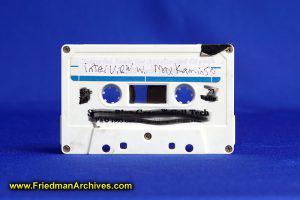 Cassette Tape (White)