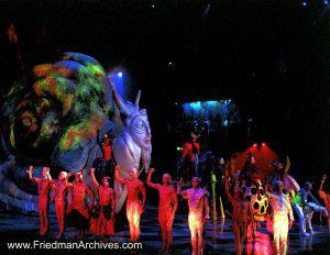 Cirque - Mystere ending