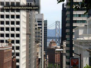City and Bridge Pillar