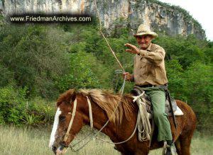 Cowboy Waving Goodbye