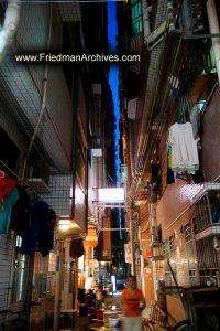 Dark Alley at Dusk