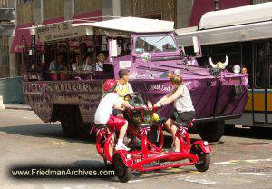 Duck Tour and Circular Bicycle
