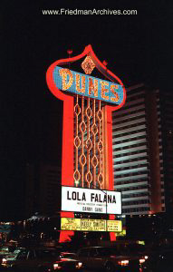 Dunes Hotel Sign