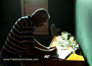 Emilio Writing