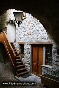 Entrance Under Arch