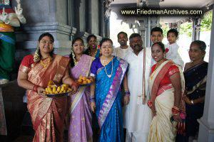 Hindu Temple Family