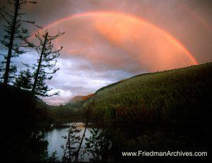 Lake and Rainbow