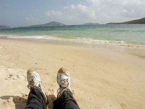 Me at the beach.