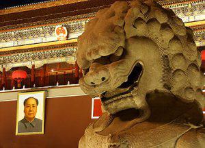 Mr_Mao_and_Statue