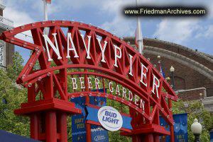Navy Pier Sign