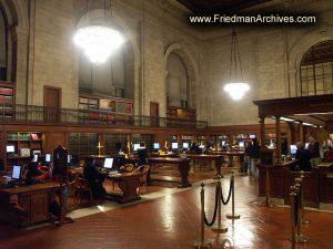 Public Library Lobby