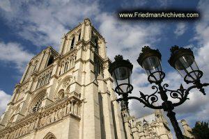 Notre Dame de Paris Exterior