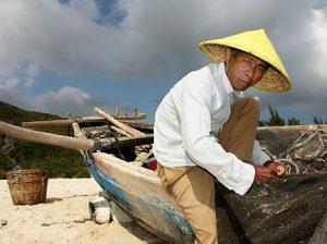 An old fisherman.
