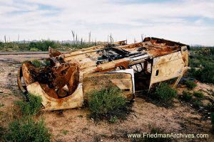 Overturned Car (horizontal)
