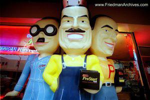 Pep Boys Statue