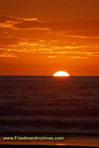 Pismo Sunset Vertical