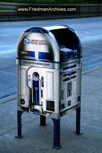 R2D2 Mailbox