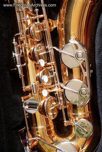 Sax Tenor Closeup