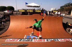 Skateboard Images - Green Blur
