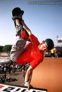 Skateboard Images - Handstand
