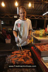 Street Food Vendor
