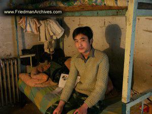Student in Dorm