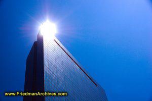 Sun Reflecting off of Hancock Building