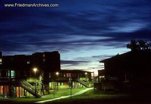 Sunset at Village Apartments