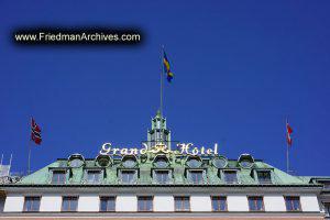 Sweden Grand Hotel Roof