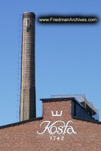 Sweden Kosta Boda Smokestack