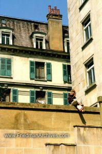 Swiss Houses w Girl