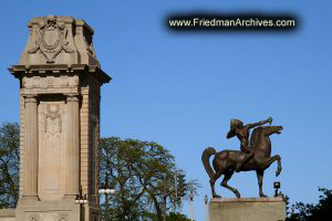 The Bowman Statue