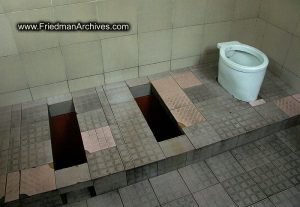 Toilet shot