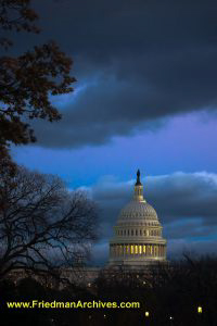 U.S. Capital Building (Vertical)
