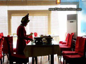 Waitress Silhouette