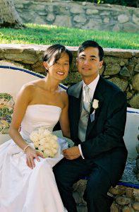 Wedding Sampler Bride and Groom Portrait II