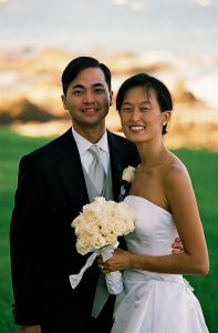 Wedding Sampler Bride and Groom Portrait VI