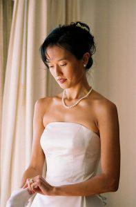 Wedding Sampler Bride by Window